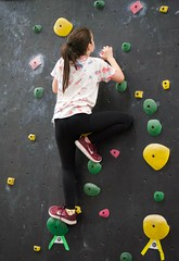Mady Climbing (pete4ducks) Tags: on1pics mady madelyn tigard oreogn 2018 climbing sport party kid child girl birthday raw sonyalpha mirrorless cropped 500views