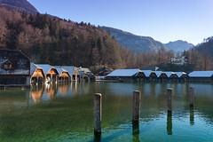 Bootshäuser 1 (Obachi) Tags: schönauamkönigssee berchtesgarden flickr königssee