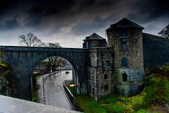 Namur Citadel (ricckoo87) Tags: castle tower namur cloudy road rain cobbles belgium travel landscape contrast city old town nikon
