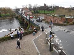 Chester 56 (StaircaseInTheDark) Tags: chester chesire england northernengland historiccity historicengland britain greatbritain uk unitedkingdom river dee riverdee