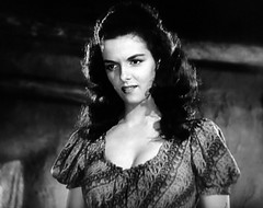 """Jane Russell in """"The Outlaw"""" (1941). (stalnakerjack) Tags: westerns fullfigure bosoms sexsymbols actresses hollywood films movies theoutlaw janerussell"""
