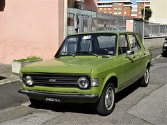 1975 Fiat 128 (Alessio3373) Tags: auto cars oldcars classiccars autoshite youngtimers targhenere blackplates fiat fiat128 fiat1281100 worldcars
