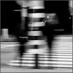 Pedestrians only cross the street when an empty spot passes. And then the question is whether you'll reach the other side of the street. (~Ingeborg~) Tags: meinge amsterdam ijburglaan oversteken crossover pedestrians voetgangers night nacht dark donker pedestriancrossing zebrapad street straat zeeburgereiland monochrome monochroom blur outoffocus ijburglaanzuiderzeeweg motionblur thankyoumydearfriend