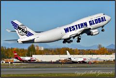 N356KD Western Global Airlines (Bob Garrard) Tags: n356kd western global airlines boeing 747 737 nac northern air n320dl n321dl cargo anc panc