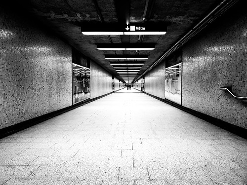 Square Victoria Metro Station Montreal