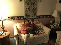 """Aunt Pam Reads to Paul and Dani • <a style=""""font-size:0.8em;"""" href=""""http://www.flickr.com/photos/109120354@N07/46385898672/"""" target=""""_blank"""">View on Flickr</a>"""