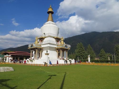 06 02 Bhutan - Thimpu - Memorial Chorten 006