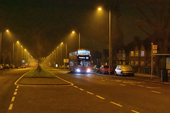 13022 on route 122 (John A King) Tags: stagecoach 13022 route122 eltham dark night