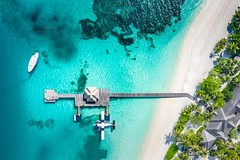 Aerial in tropics (icemanphotos) Tags: drone aerial sea palm island paradise resort tranquil shore lagoon tropical calm recreation asia green nature relax coast blue colorful indian landscape southeast maldives indianocean ocean beach travel reef over scenic marine summer remote color tourism clouds turquoise transparent scene above vacation sunny coral view atoll beautiful horizontal seascape beauty