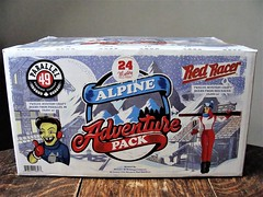 Alpine Adventure Pack (knightbefore_99) Tags: beer cerveza craft pivo bc west coast cool great alpine adventure pack advent calendar box art tasty redracer parallel49