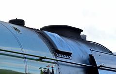 60163 Tornado - Top of Smokebox (simmonsphotography) Tags: railway railroad nenevalley heritage preservation locomotive engine train steam uksteam 60163 tornado peppercorn a1 lner pacific newbuild wansford