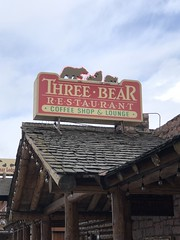 THREE BEAR RESTAURANT WEST YELLOWSTONE MONTANA (ussiwojima) Tags: threebearsrestaurant restaurant westyellowstone montana advertising sign
