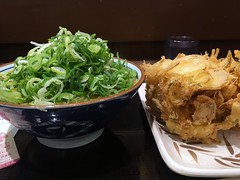 Curry udon from Marugame Seimen @ Roppongi (Fuyuhiko) Tags: curry udon from marugame seimen roppongi カレー うどん 丸亀 丸亀製麺 六本木 tokyot tokyo 東京