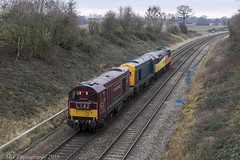 20142 at Abbotswood [0Z02] 10.01.2019 (Wolfie2man) Tags: 20142 20189 56113 class56 class20 colas colasrailfreight abbotswoodjunction abbotswood