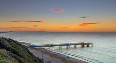 Boscombe Clouds (nicklucas2) Tags: seascape beach boscombe bournemouth dorset sea seaside sand pier sunrise cloud