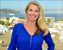 Juliette Goodrich (billypoonphotos) Tags: san francisco bay area kpix kpix5 cbs cbs5 eyewitness news anchor reporter photo picture media emmy broadcaster broadcasting billypoon billypoonphotos nikon d5500 nikkor 35mm 35 mm lens portrait pretty beautiful lady woman female girl facebook twitter tv television people juliette goodrich blue blouse