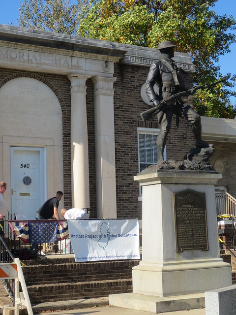 American Legion Volunteer Project, October 2018, Burlington City, NJ