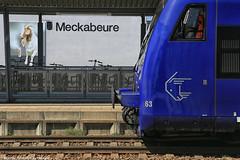 Geißbocktreff in Meckabeure (rail4life) Tags: bob geisbockbahn bodenseeoberschwabenbahn regioshuttle vt650 südbahn meckenbeuren meckabeure geisbock auf de schwäbsche eisebahne