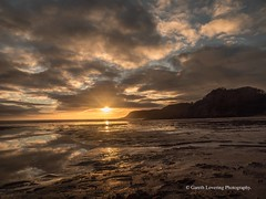 Sunset over Caswell Bay 2019 01 25 #31 (Gareth Lovering Photography 5,000,061) Tags: sunset sun sunny sunshine caswell gowercoast gower swansea wales seaside landscape beach walescostalpath olympus penf garethloveringphotography