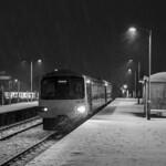 Ninian Park, Cardiff in the snow thumbnail