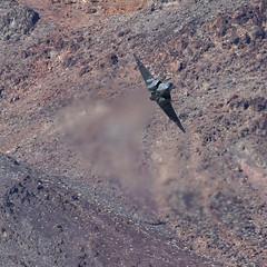 Star Wars Canyon (Treflyn) Tags: scifi film us navy lockheed martin f35c f35 lightning ii 168841 104 test evaluation squadron vx9 vampires star wars canyon jedi transition death valley national park california usa