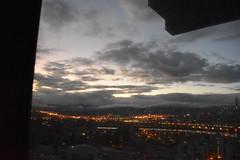 Sunrise over Taipei (earthdog) Tags: 2018 nikon d5600 nikond5600 18300mmf3563 travel businesstravel taipei taiwan outwindow outhotelwindow marriott marriottaipei skyline sky city morning sunrise hotel