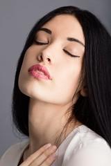 Eyes wide shut (Dani_vr) Tags: ojos eyes closed cerrados girl estudio sada coruña galicia face lips labios spain