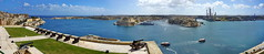 Panorama of the Great Harbour (akovt) Tags: panorama malta mediterranean sea viewpoint view city haven