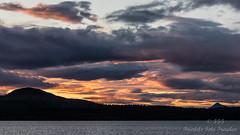 Evening mood at the Femundsee in Norway (Friedels Foto Freuden) Tags: wolken clouds himmel sky femundsee abendstimmung sonnenuntergang sunset