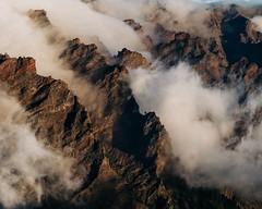 Caldera de Taburiente (zanettifoto) Tags: calderadetaburiente vulkan elpaso baum herbst kanarischeinseln abend sonnenuntergang wolkenhimmel abendsonne berg stein nebel spanien detail esp