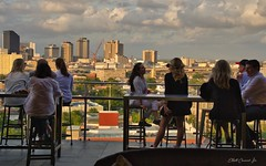 Hot Tin-Rooftop Bar at The Pontchartrain Hotel, New Orleans (Elliott Cowand) Tags: thepontchartrainhotelneworleans bar tinroofbar neworleans rooftopbar louisiana happyhour sunset tamron eos tamron18200mm canon canon60d allrightsreserved copyright elliottcowandyahoocom elliottcowand hottinrooftopbar hottinrooftopbarthepontchartrainhotelneworleans thegardendistrict thebigeasy hotel