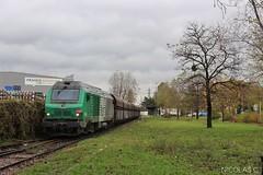 BB(4)75468 + wagons charbon - MA100 - Train n°456070 St-Ouen-les-Docks > Gennevilliers (nicolascbx) Tags: bb75000 bb75400 prima alstom siemens sncf fret train gennevilliers stouenlesdocks cpcu autumn automne bb75468 456070 portdegennevilliers stouen freight freighttrain traindefret traindemarchandises vtg vutr transportsreunis fretsncf