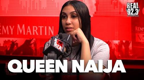 Queen Naija fan photo