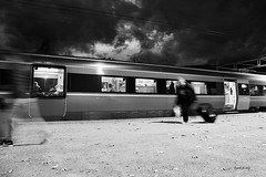 Trainspotting (bjarkihalldors) Tags: canoneos5dmarkiv canonef2470mmf28l noregur norway norge vinstra train lest tog