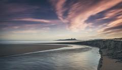 Curves (ianbrodie1) Tags: dunstanburghcastle curves water sea seascape coast coastline sky clouds sand beach patterns ripples longexposure leefilters waves castle northumberland