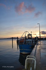 'Docked for the evening' (Gary Rock Photo) Tags: loughswilly donegal boat sea sunset inishowen fishing buncrana wildatlanticway water