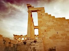 Athens (denismartin) Tags: denismartin architecture greece pericles acropolis temple greek athenes athens europe vintage cloud erechtheion