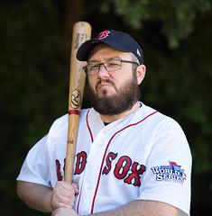 Sox Fan (thinduck42) Tags: fan baseball redsox sport uniform boston a7iii sony sony85mmf18 portrait worldseries family