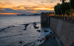 Alghero, Sardinia (Michael's shots) Tags: alghero italy sardinia sunset sea city nikond3100