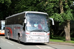 GHA Coaches (peagreenbus) Tags: aa08gha man18360 plaxtonpanther ghacoaches