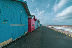 samyang 14mm-16 (istee@live.co.uk) Tags: cromer pier beach seaside wideangle superwideangle sea waves samyang 14mm sonya7rii clouds sky blue