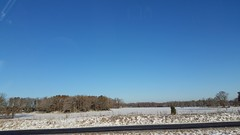 Snow 2018 (Adventurer Dustin Holmes) Tags: snow cold winter weather 2018 missouri midwest ozarks outdoor field landscape scenic fence trees bluesky sky clearsky