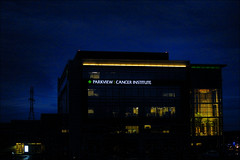 Parkview Cancer Institute (raymondclarkeimages) Tags: night sign hospital google flickr raymondclarkeimages rci canon 6d sky outdoor 8one8studios parkviewcancerinstitute 70200mm indiana cancertreatment fortwayne parkviewhealth iso6400 fullframe healthcare oncology