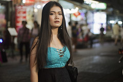 Nelly IMG_6907 RS (Swebbatron) Tags: fashion portrait model naturallight beautiful woman girl canon 50mm 1100d radlab gettotallyrad night street streetphotography bangkok thailand asia southeastasia tegoshimiwa chinatown purpleport modelmayhem asian