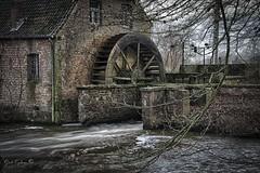 Hoolstmolen 2 (Geert E) Tags: mill watermill grinder wheel hdr landscape water balen hoolst molino wassermühle molinodeagua moulin moulinaeau kempen grotenete onderslag