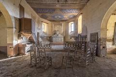 L'Étoile (Leonardo Fazio) Tags: eglise church decay abandoned abandon urbex urbexer