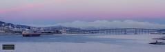 MS Finnmarken arrives Tromsø (Torbjørn Tiller) Tags: hurtigruten msfinnmarken tromsø tromso arctic arcticlight norway