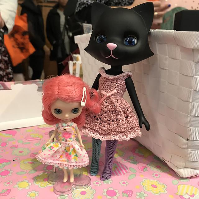 Betty found a new friend on Blythecon UK.