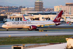 Virgin Atlantic Boeing 787-9 Dreamliner G-VWOO (Mark Harris photography) Tags: spotting lax la canon 5d plane aviation