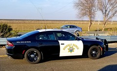 California Highway Patrol Dodge Charger slicktop on Interstate 80 (Caleb Owen Photography) Tags: chp slicktop dodge charger